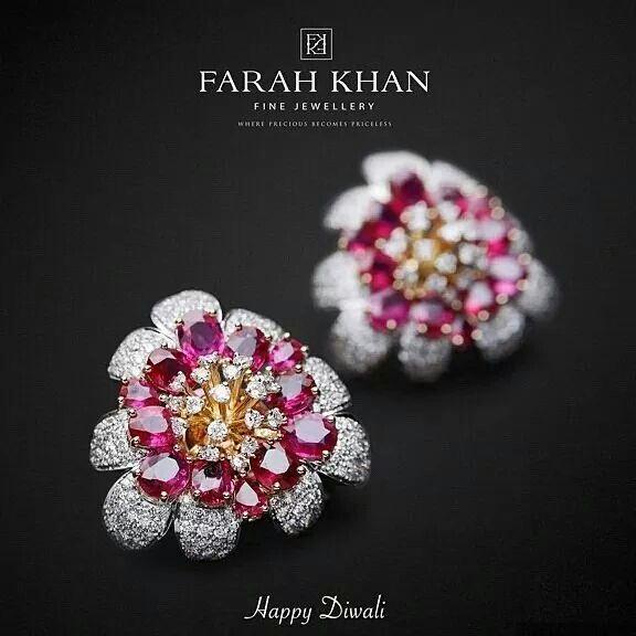 "By @farahkhanali ""Farah Khan Fine Jewellery wishes u all a very Happy Diwali and…"