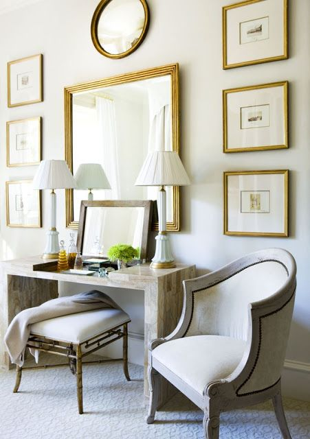 South Shore Decorating Blog: What To Do With An Empty Wall; wall ideas