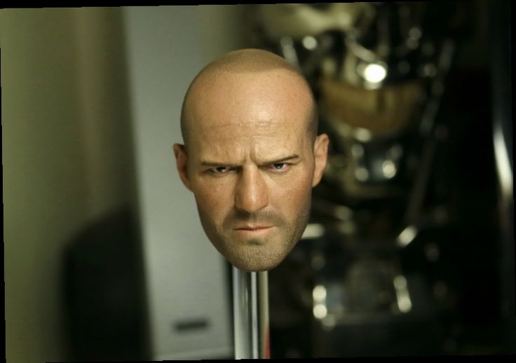 """48.00$  Buy here - http://alick8.worldwells.pw/go.php?t=32384644771 - """"Doll head 1/6 scale Fast & Furious Jason Statham head for figure.12"""""""" Action figure doll accessories.No Clothes and body"""""""