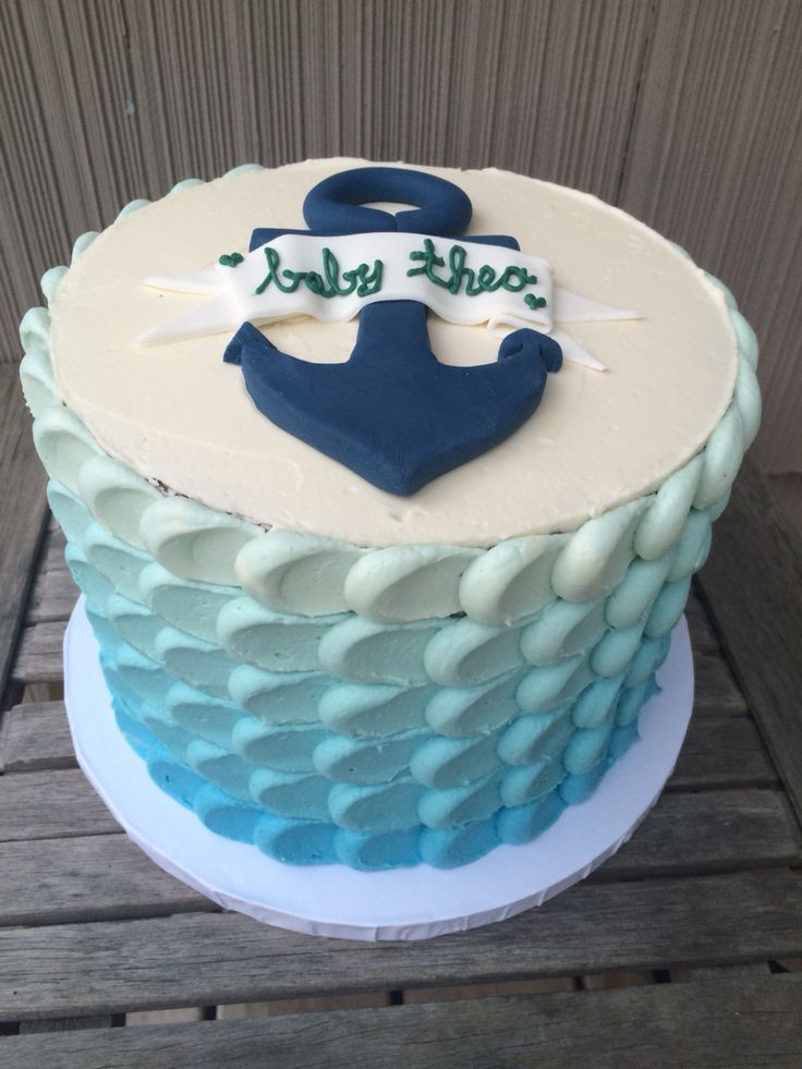 boy baby shower cakes baby shower cupcakes boy baby showers nautical