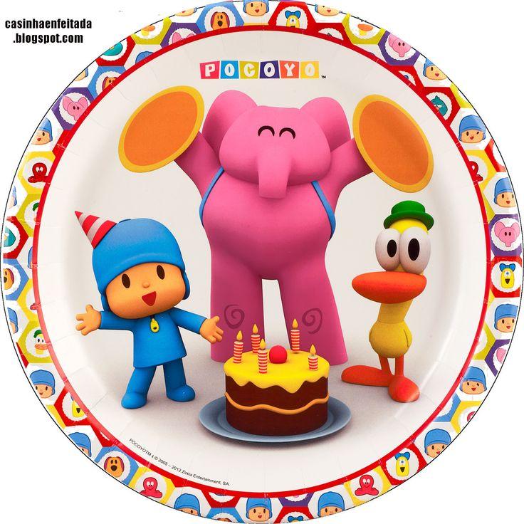 Casinha de Criança: Kit Festa Pocoyo Para Imprimir Grátis