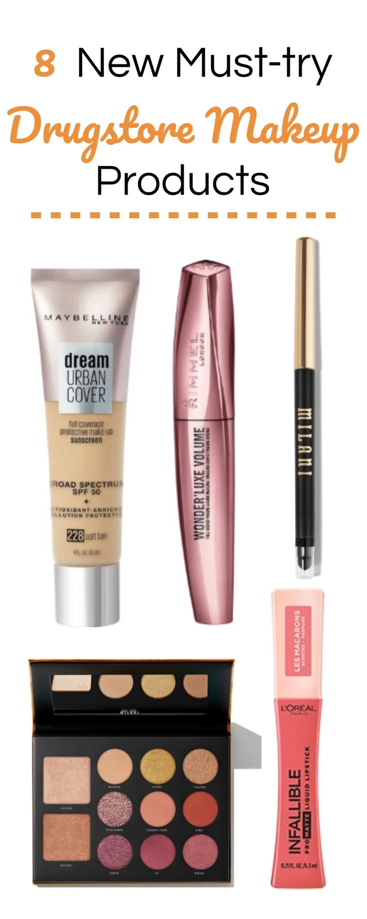 More new drugstore makeup is here! From Maybelline's new