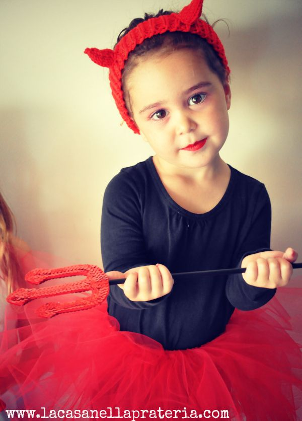 DIY Little Devil Halloween Costume