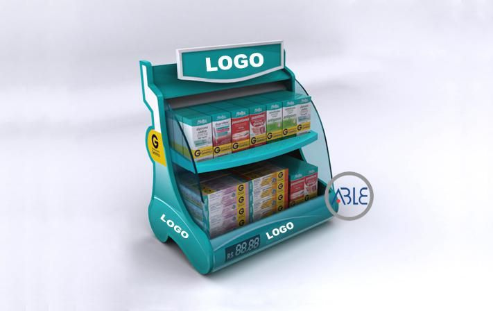 Counter Retail Display Stand Custom Style Retail Display