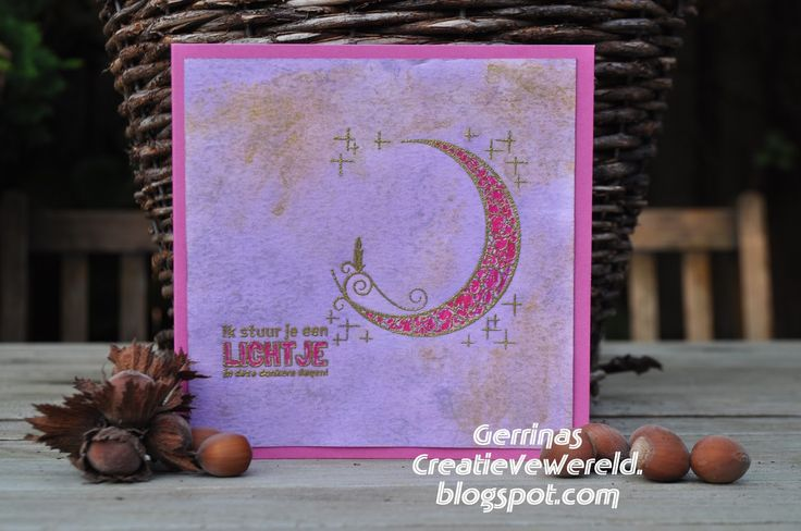 Gerrina's Creatieve Wereld: Paarse kerst / Purple Christmas