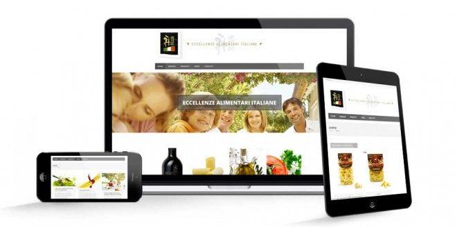 realizzazione sito web Rian Eccellenze Alimentari Italiane - studio grafico lagartixa designstudio grafico lagartixa design