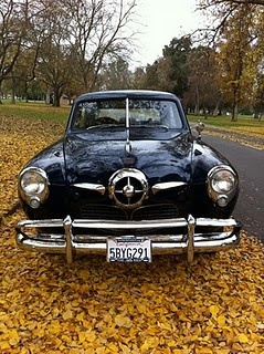 1950 Studebaker Champion. Always have liked this car. The bullet nose and the sp…