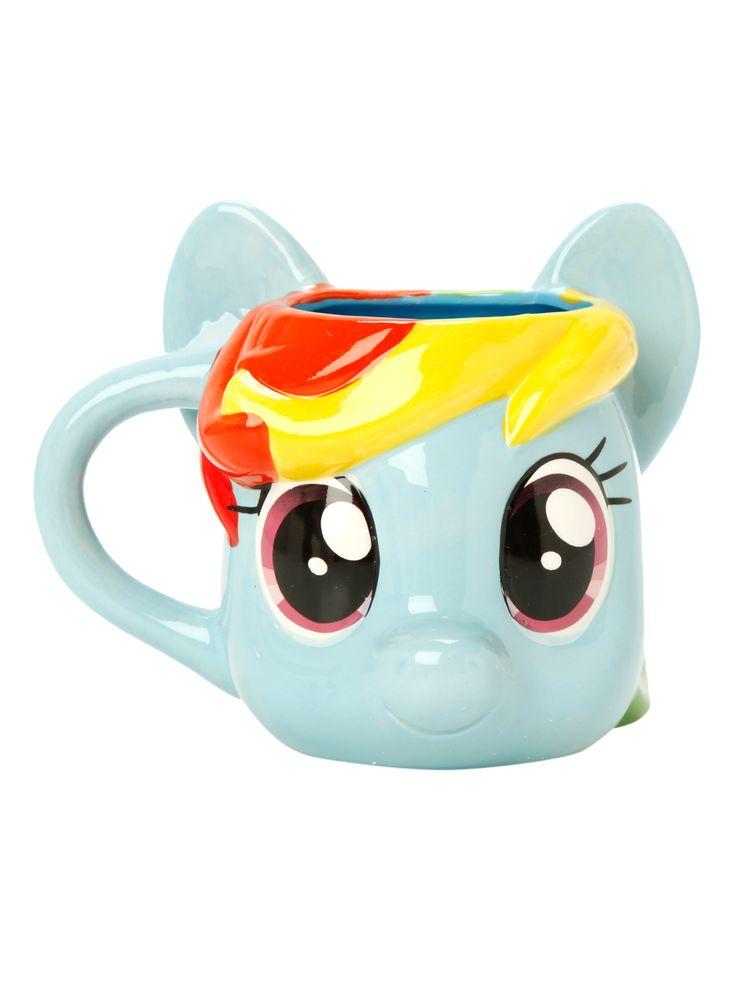 My Little Pony Rainbow Dash Figural Mug