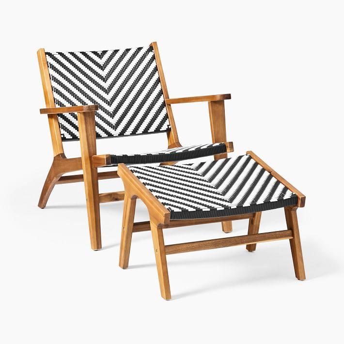 Bondi Outdoor Lounge Chair Ottoman Set Lounge Chair Outdoor Ottoman Set Chair And Ottoman Set