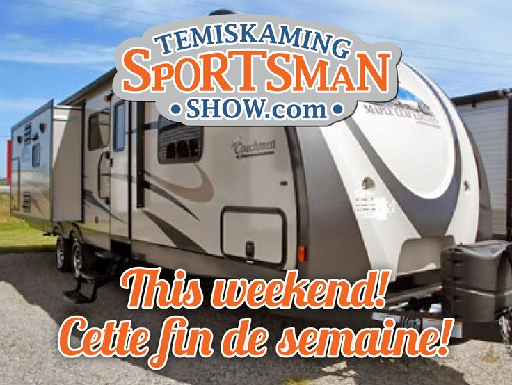 Join us THIS WEEKEND and see what's NEW for the 5th Annual Temiskaming Sportsman Show, at the Timiskaming Square (New Liskeard).  Visit our website for details on the different brands, models, products and exhibitors that will be on display! http://temiskamingsportsmanshow.com