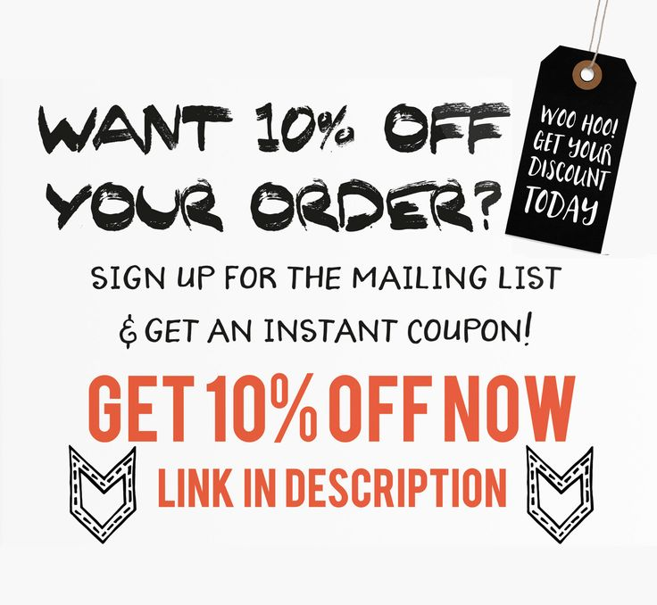 To receive a 10% discount off your order in my shop via https://www.etsy.com/uk/shop/TinasLeatherCrafts and to keep up-to-date on new products, special promo offer codes, gift ideas, and much more, straight into your email Inbox,  please sign up to my newsletter via:  http://www.subscribepage.com/g0o7q4