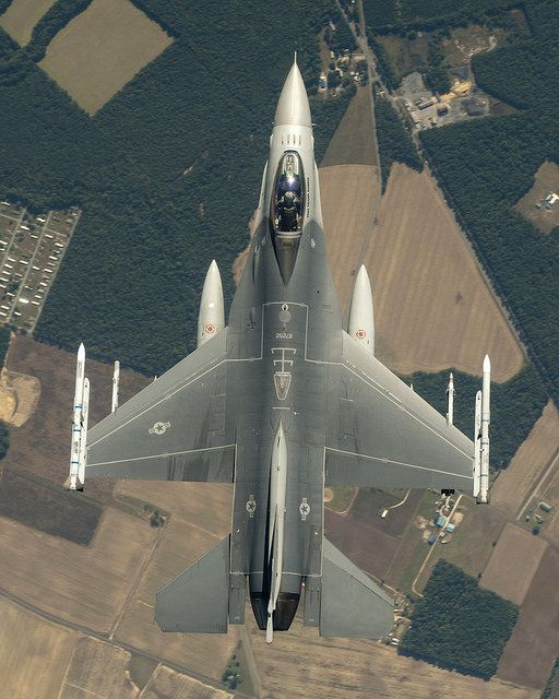 F-16 from Above by Lockheed Martin
