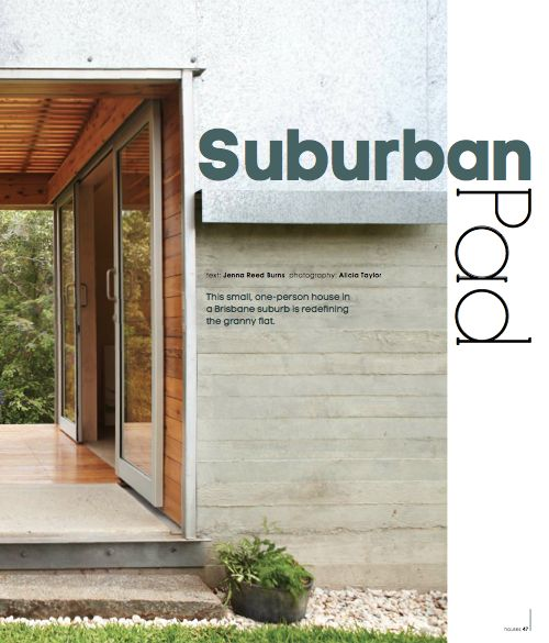 suburban pad - text: Jenna Reed Burns, photography: Alicia Taylor
