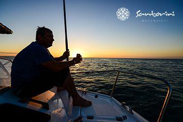 Take in the sunrise on an early morning fishing trip at Villa Santorini. #VillaSantorini #Mozambique #Fishing #Ocean