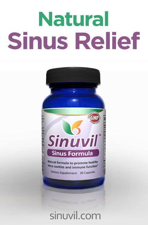 Sinuvil - All-Natural Relief for Sinus Infection #remedies #sinusitis #infection