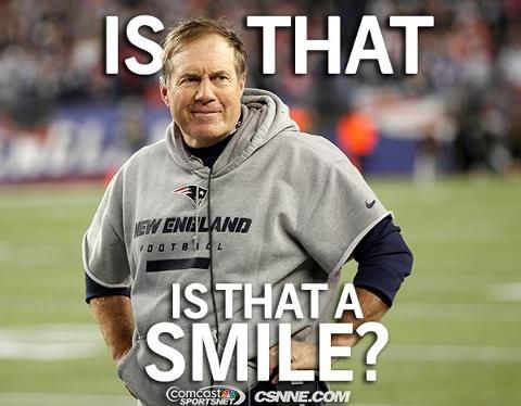Patriots coach Bill Belichick