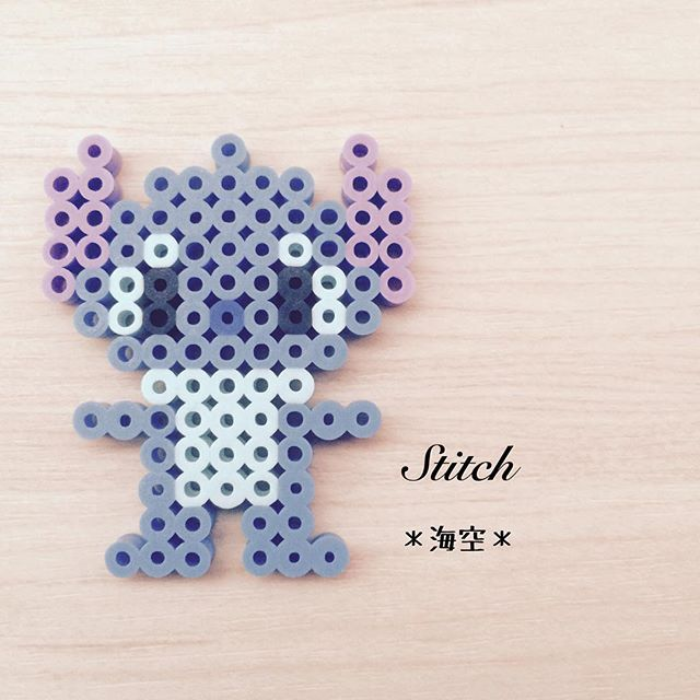 Stitch perler beads by kaisora0_0