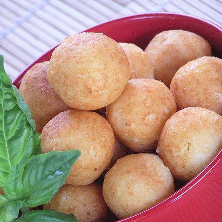 Bolitas de queso is my favorite Puerto Rican dish.