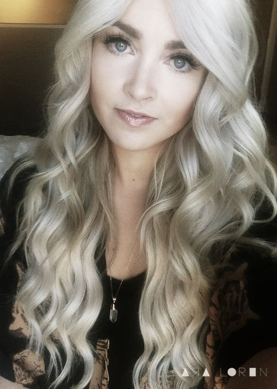 loose ashy curls (click to see tutorial)