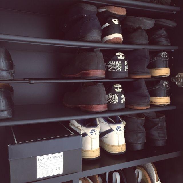 靴箱を使いやすく♪100均アイテム活用の収納アイデア
