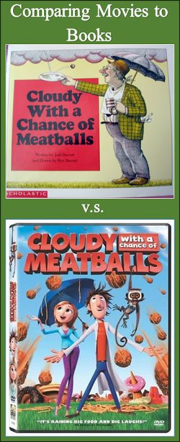 Free Worksheets for Comparing Movies to Books #books #reading