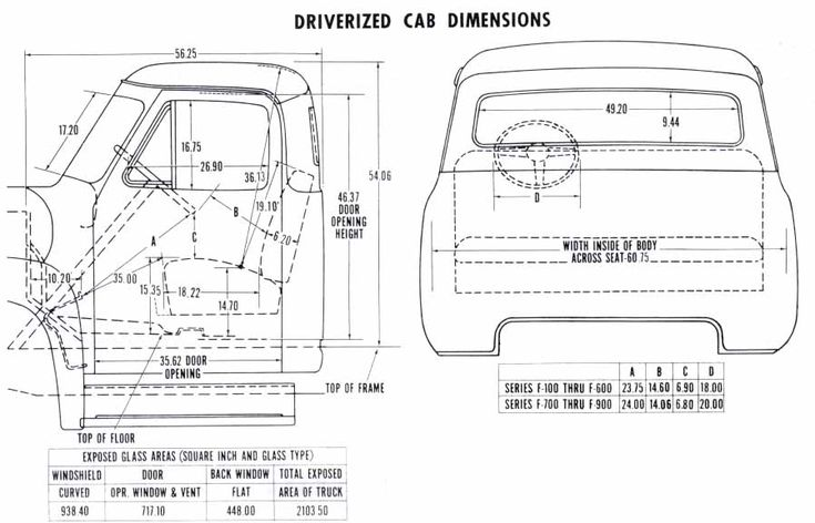 Bench Seat Dimensions