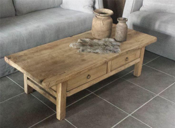 Meer dan 1000 idee n over hout meubels op pinterest log bankjes rustiek meubilair en meubels - Modern meubilair en oude ...