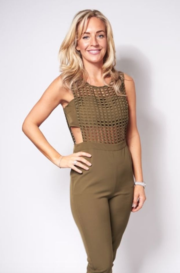 KHAKI QUEEN Our Dina khaki mesh jumpsuit is now in our SALE! Get yours now! https://www.havetolove.com/collections/sale/products/dina-khaki-mesh-jumpsuit #sale #havetolove #NEfollowers