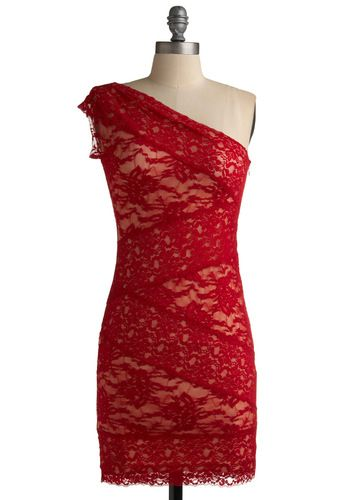 I love THIS: Style, Dream Closet, Infrared Lace, Modcloth, Red Lace Dresses, Dress Red