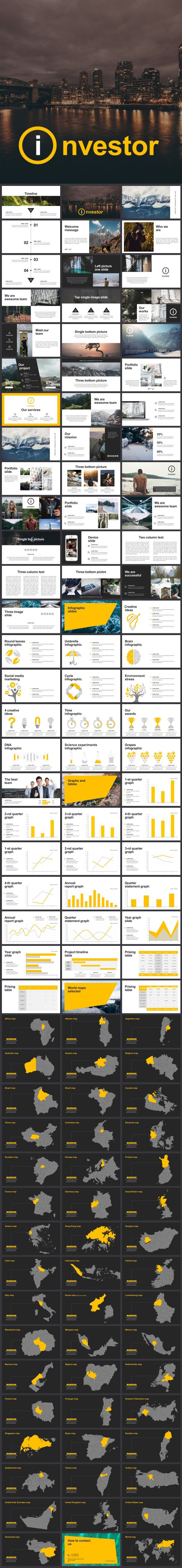 Investor Keynote Template 42 best templates