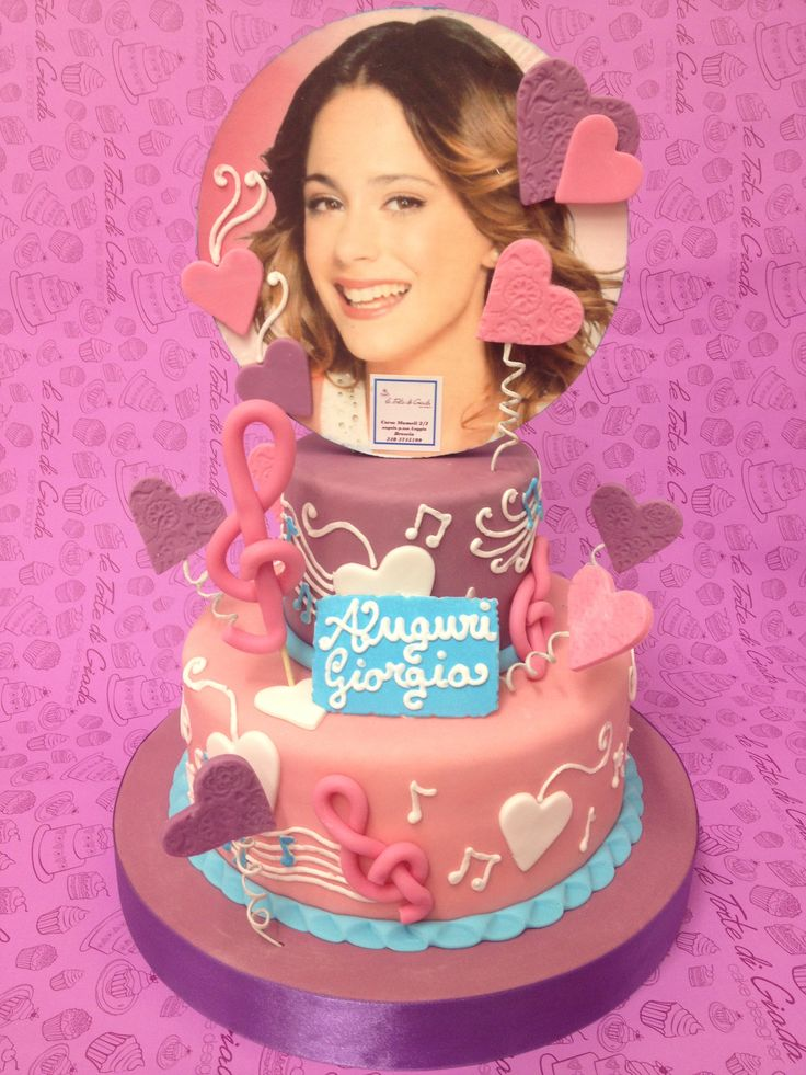 Violetta torta le torte di giada brescia - Image violetta ...