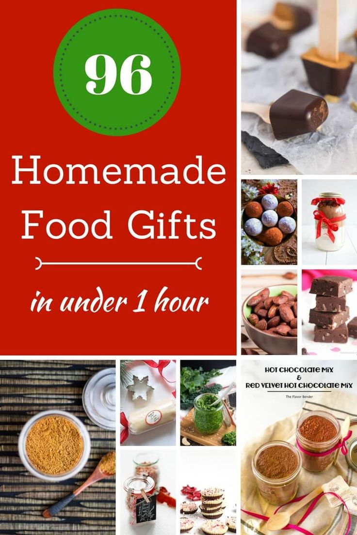 96 Homemade Christmas Food Gifts In Under One Hour