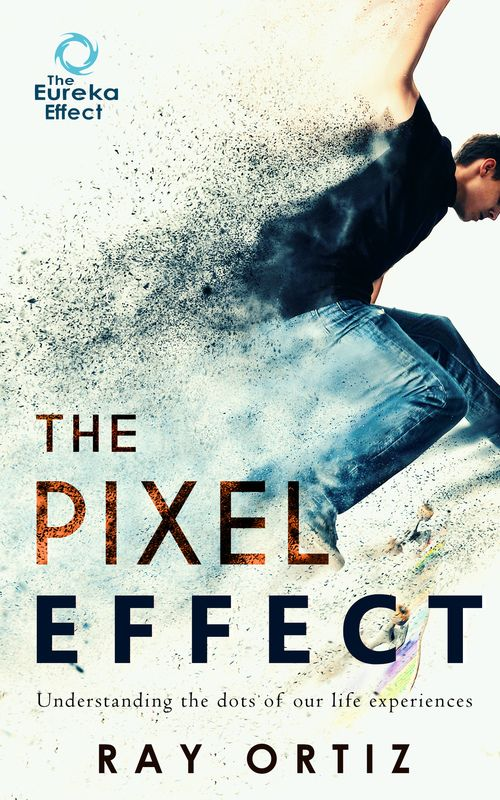 The pixel effect ebook cover design high resolution!