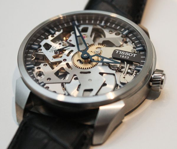 Tissot T-Complications Squelette Modern Skeletonized Watch Hands-On