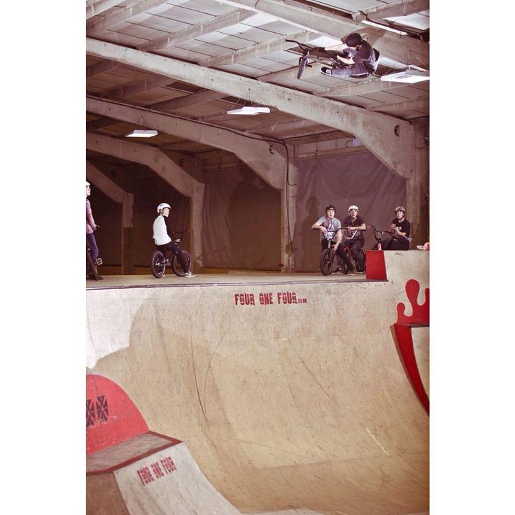 Toboggan in corby skatepark
