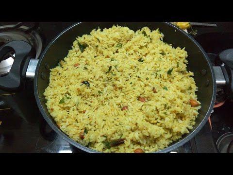 Menthe Hittu Kalasida Anna -- Fenugreek Spice Mix in Rice -- Lunchbox Special