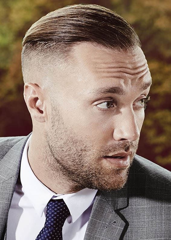The 30 Most Stylish Comb Over Fade Haircuts 2019 Hairstyles Guide In 2021 Fade Haircut Comb Over Fade Haircut Skin Fade Comb Over