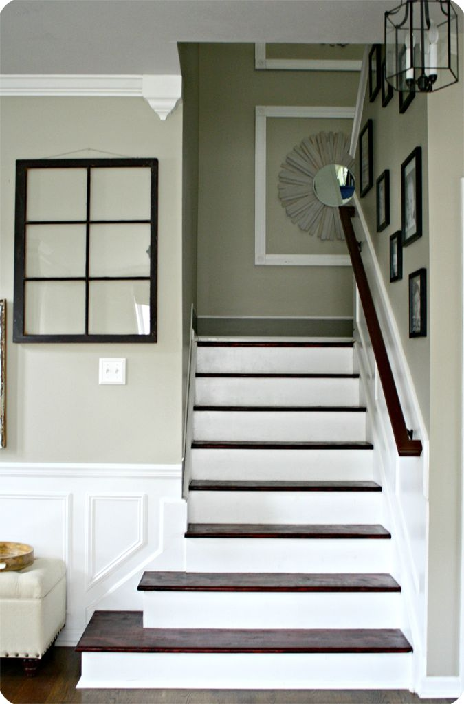 Thrifty Decor Chick: Do-It-Herself Workshops at The Home Depot - Painted Staircase