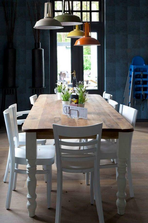 Industrie hanglamp FLOW! Greige: Grijs / taupe - HanglampGigant.nl