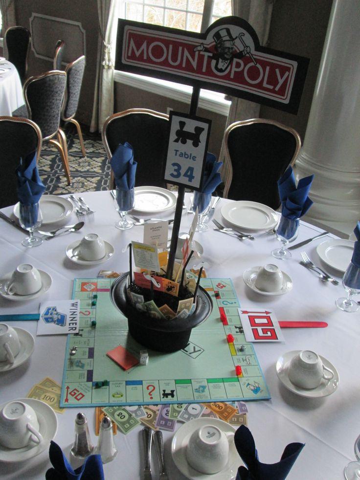 Monopoly Centerpiece