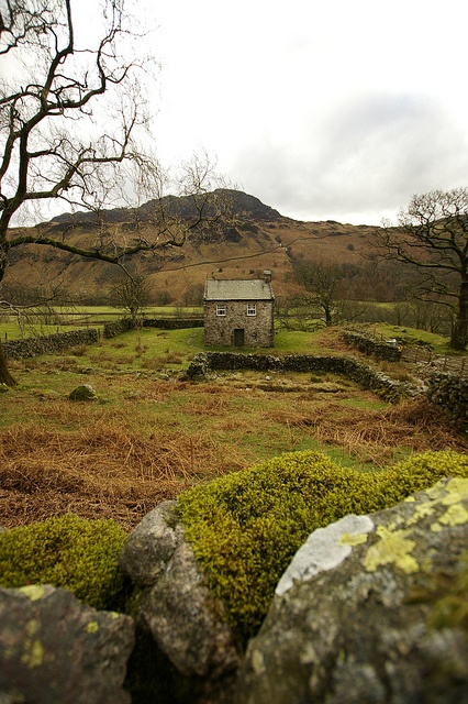 Cute cottage. Birker Fell, Lake District, Cumbria, England, UK