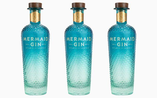 Mermaid Gin unveils striking and sustainable new bottle | Alcohol