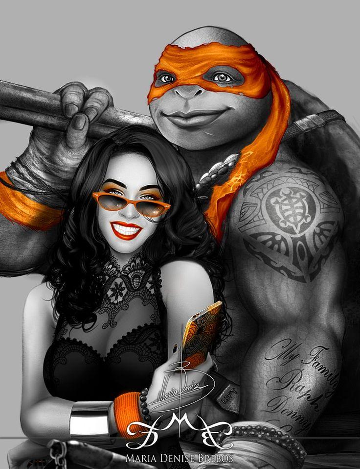 TMNT: Orange by MariaDeniseBrebos on DeviantArt