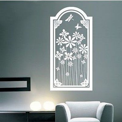 A Glimpse of Nature Vinyl Wall Decal Sticker