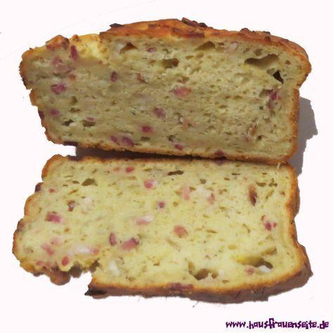 Kartoffelbrot mit Speck und Zwiebeln - Rezept Das Kartoffelbrot ist einfach köstlich und mehr als Butter oder Kräuterquark braucht man eigentlich nicht mehr