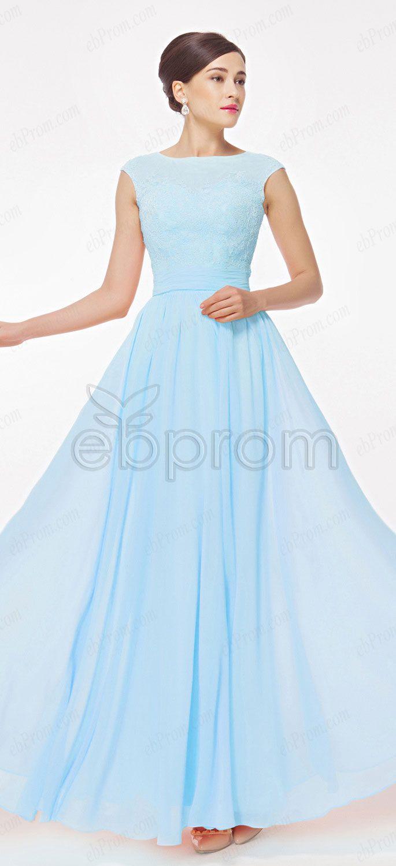 25  best ideas about Light blue long dress on Pinterest | Light ...