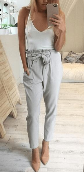 "Item specifics: Material:Polyester Length:Ankle-Length Pants Style:""European and American Style Fit Type:Regular Fabric Type:Chiffon Closure Type:Elastic Waist Decoration:Pockets,Sashes Patte…"