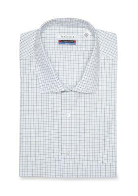 Van Heusen Men's Van Heusen Big & Tall Dress Shirt - Evergreen - 18.5 35/36