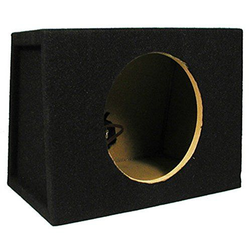 New Single Car Black Subwoofer Box Sealed Automotive Enclosure for 8-Inch Woofer 8S - https://www.caraccessoriesonlinemarket.com/new-single-car-black-subwoofer-box-sealed-automotive-enclosure-for-8-inch-woofer-8s/  #8Inch, #Automotive, #Black, #Enclosure, #Sealed, #Single, #Subwoofer, #Woofer #Car-Subwoofers, #Electronics