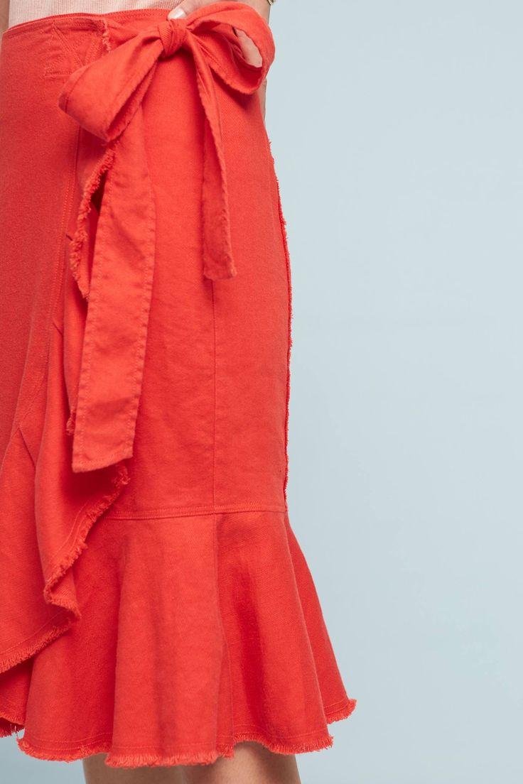 Slide View: 3: Ria Ruffled Skirt